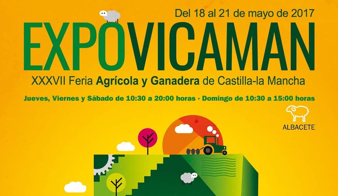 Expovicaman 2017, la XXXVII Feria Agrícola y Ganadera  de Castilla- La Mancha