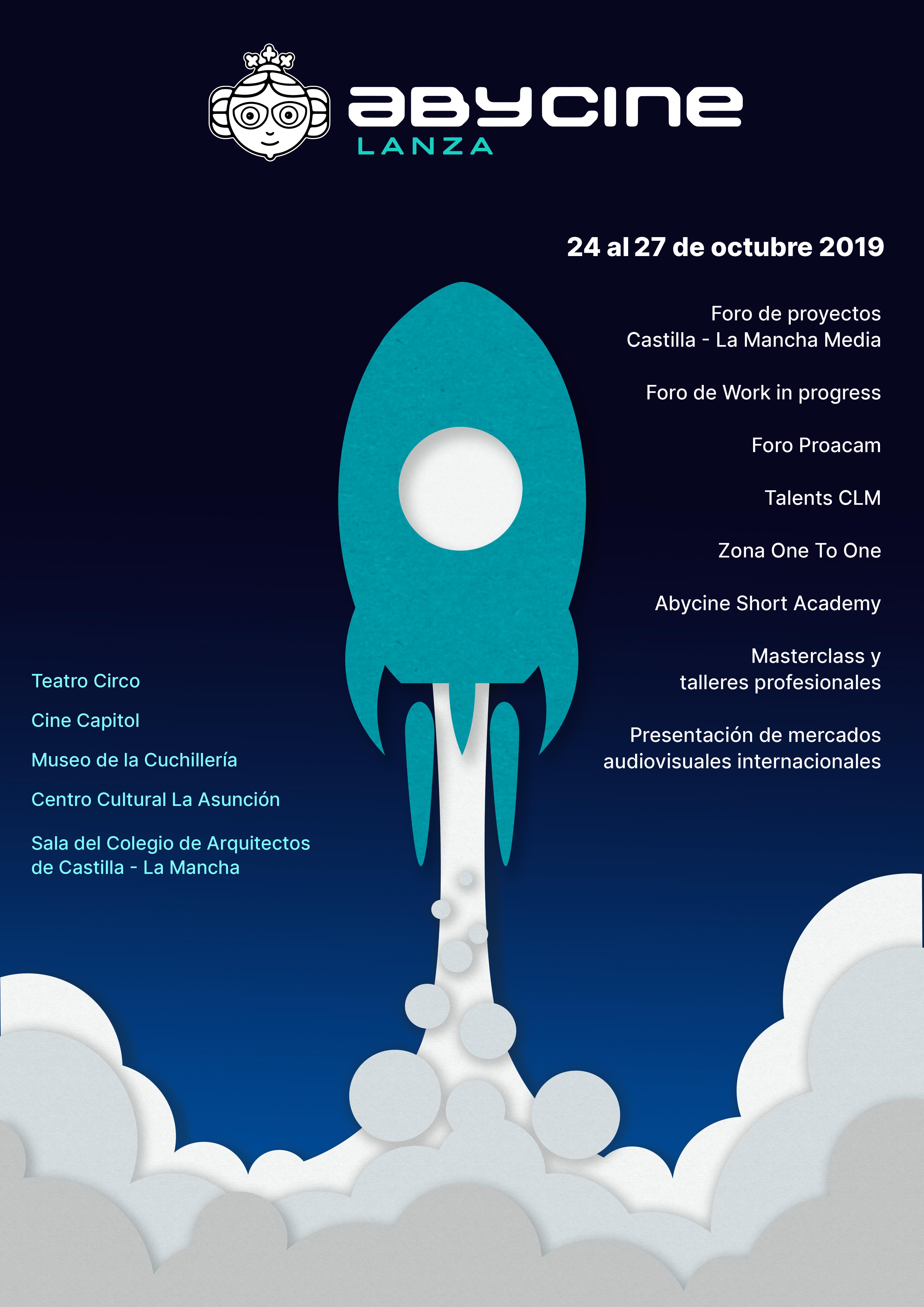 Cartel Abycine Lanza 2019