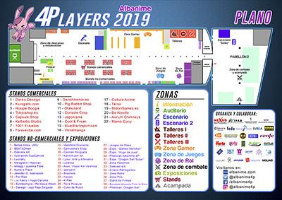 Plano Albanime 4Players 2019