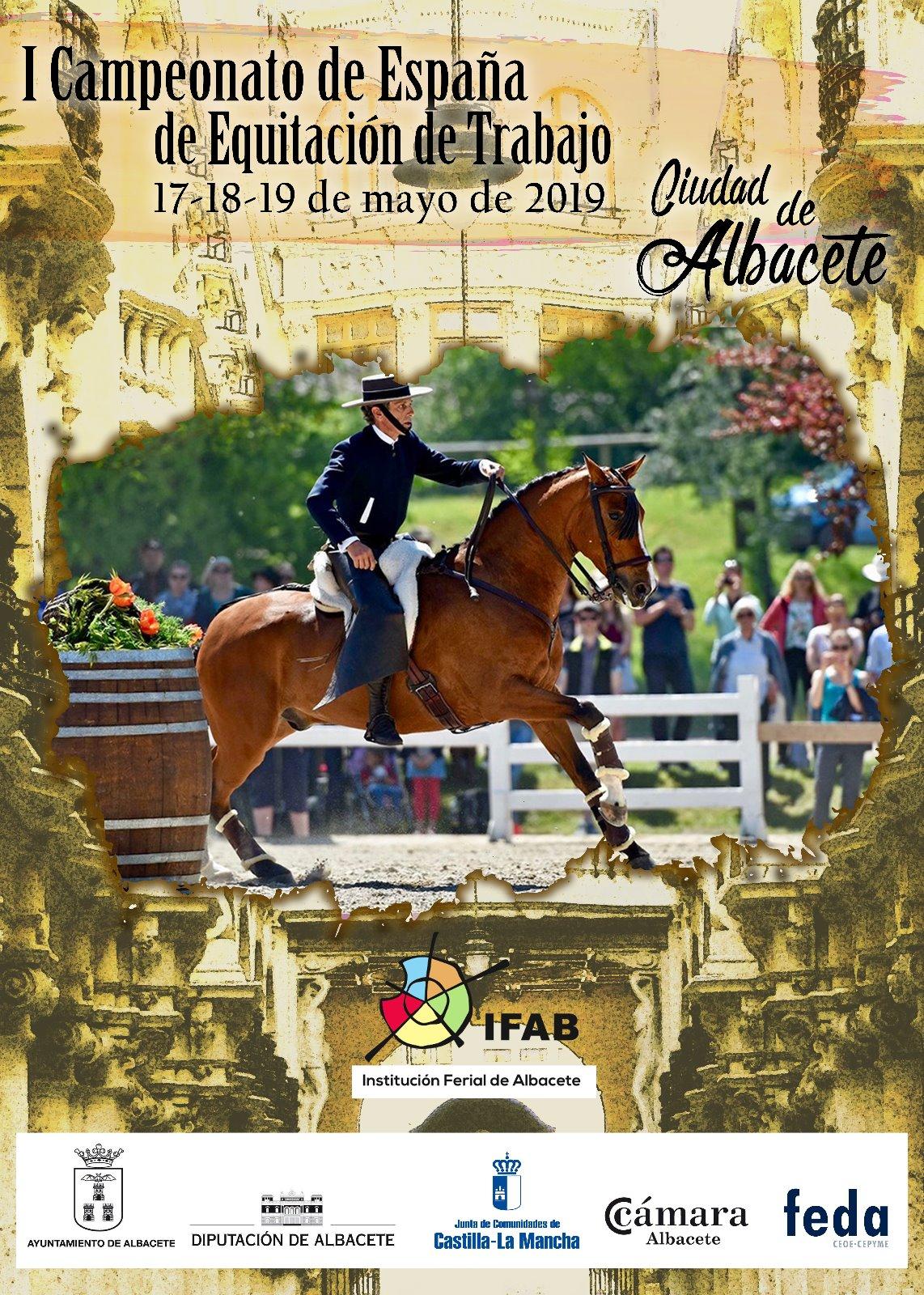 I Campeonato de España de Equitación de Trabajo